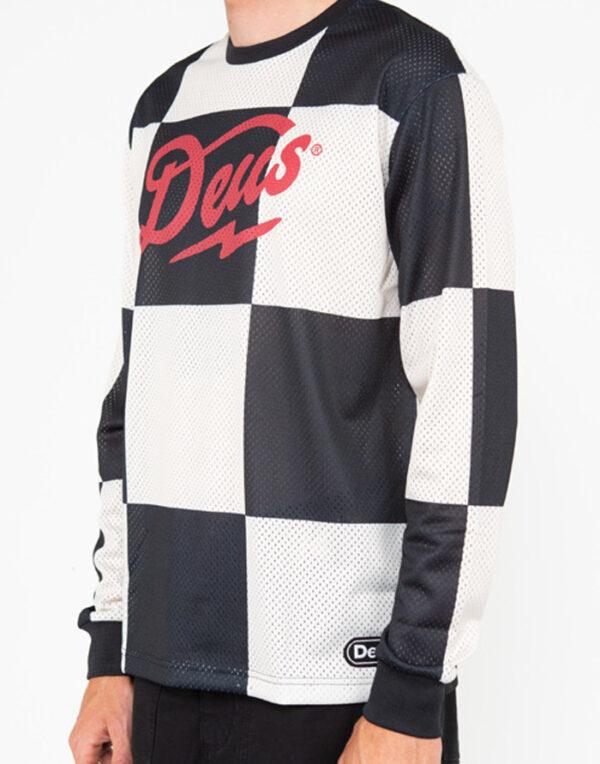 Deus Ex Machina Mehed Särgid ja jakid Funk Feud Moto Jersey Must DMP2011141