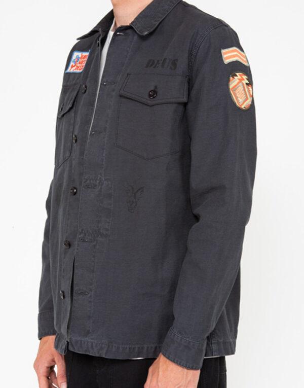 Deus Ex Machina Mehed Särgid ja jakid Monty Overshirt  Black Jakk DMP2051125-Black