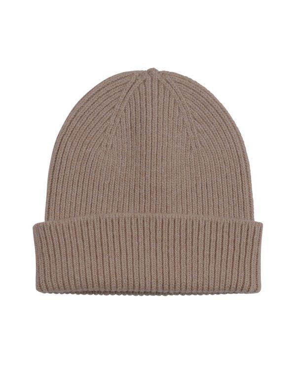 Colorful Standard Hats Mütsid Merino Wool Beanie Warm Taupe CS5081 Warm Taupe