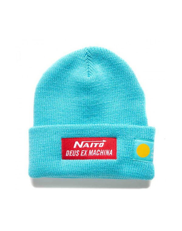 Deus Ex Machina Accessories Hats Naito Beanie River Blue DMF207668