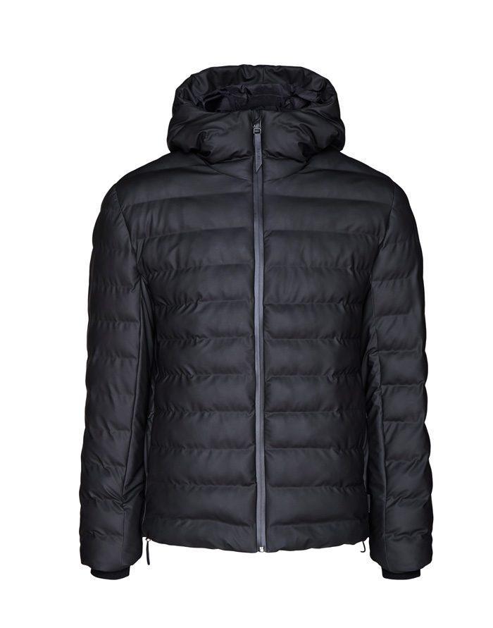 Rains Outerwear Winter coats and jackets Trekker Hooded Jacket Black 1528-01