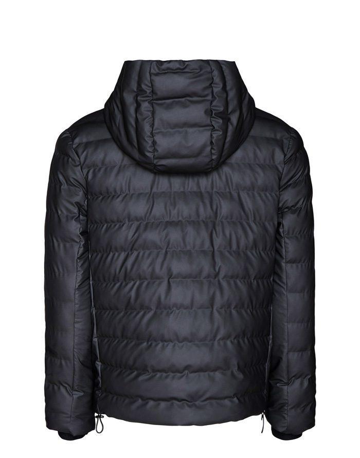 Rains Ülerõivad Talvemantlid ja -joped Trekker Hooded Jacket Black Jope 1528-01
