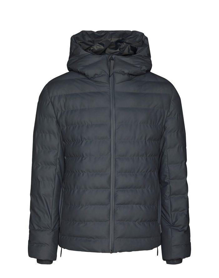 Rains Outerwear Winter coats and jackets Trekker Hooded Jacket Slate 1528-05