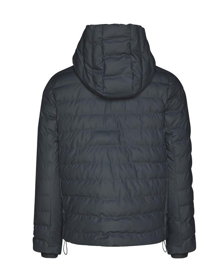 Rains Ülerõivad Talvemantlid ja -joped Trekker Hooded Jacket Slate Jope 1528-05