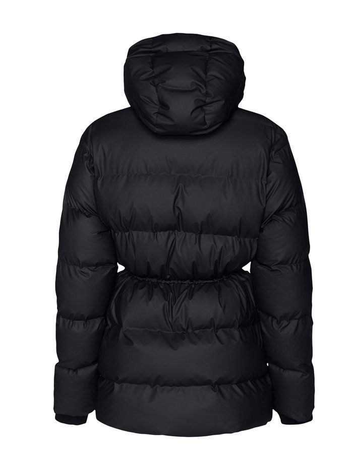 Rains  Talvemantlid ja -joped Puffer W Jacket Black Talvejope 1537-01