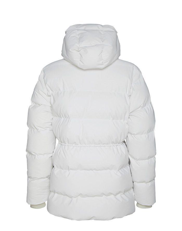 Rains  Talvemantlid ja -joped Puffer W Jacket Off White Talvejope 1537-58