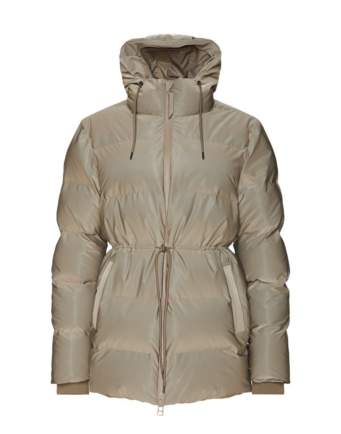 Rains  Winter coats and jackets Puffer W Jacket Velvet Taupe 1537-33