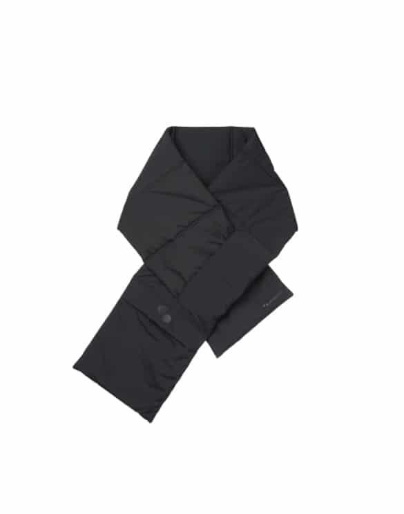 pinqponq Accessories  Scarf Unisex Peat Black PPC-SCR-001-801